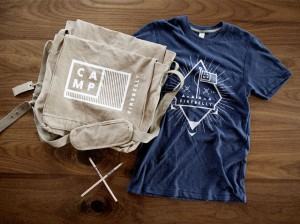 Camp Firebelly Shirt & Bag